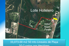 Foto de terreno comercial en venta en  , zona hotelera, benito juárez, quintana roo, 3518162 No. 01