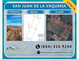 Foto de terreno habitacional en venta en 00 01, san juan de la vaquería, saltillo, coahuila de zaragoza, 0 No. 01
