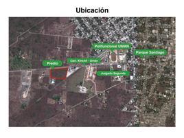 Foto de terreno industrial en venta en 15 199, uman, umán, yucatán, 22122082 No. 01