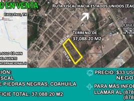 Foto de terreno comercial en venta y renta en Roma, Piedras Negras, Coahuila de Zaragoza, 14819689,  no 01