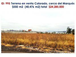 Foto de terreno industrial en venta en Ciudad Maderas, El Marqués, Querétaro, 16862192,  no 01