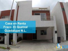 Foto de casa en renta en El Quetzal, Guadalupe, Nuevo León, 15508427,  no 01