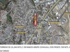 Foto de terreno comercial en venta en Ramos Arizpe Centro, Ramos Arizpe, Coahuila de Zaragoza, 14429816,  no 01