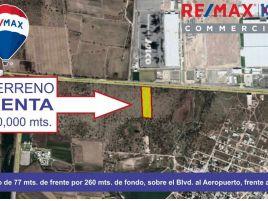 Foto de terreno industrial en renta en El Refugio de Peñuelas, Aguascalientes, Aguascalientes, 14820632,  no 01