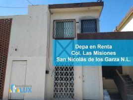 Foto de departamento en renta en Las Misiones, San Nicolás de los Garza, Nuevo León, 15957330,  no 01