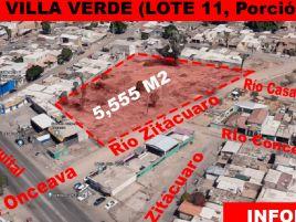 Foto de terreno comercial en venta en Villa Verde, Mexicali, Baja California, 19456400,  no 01