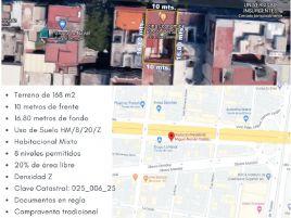 Foto de terreno habitacional en venta en Algarin, Cuauhtémoc, DF / CDMX, 15663899,  no 01