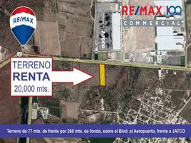 Foto de terreno habitacional en renta en boulevard aeropuerto , buenavista, aguascalientes, aguascalientes, 13936577 No. 01