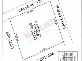 Foto de terreno habitacional en venta en calle 46 lote 3 manzana 63 , coba, tulum, quintana roo, 0 No. 01