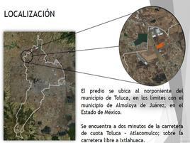 Foto de terreno comercial en venta en calle sin nombre 108, san cayetano morelos, toluca, méxico, 0 No. 01