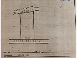 Foto de terreno habitacional en venta en camino de lo coyotes 1145, lomas de lourdes, saltillo, coahuila de zaragoza, 0 No. 01