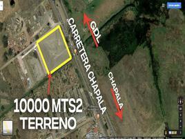Foto de terreno habitacional en renta en carretera a chapala s/n , jardines de la calera, tlajomulco de zúñiga, jalisco, 15963379 No. 01