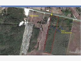 Foto de terreno habitacional en venta en carretera chiná - pocyaxun 12.5, santa ana, campeche, campeche, 0 No. 01