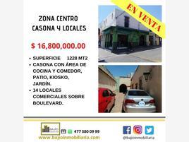 Foto de casa en venta en casona y 14 locales comerciales en venta, centro, león, guanajuato, 0 No. 01