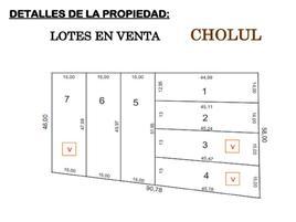 Foto de terreno habitacional en venta en cholul whi10108, cholul, chemax, yucatán, 0 No. 01