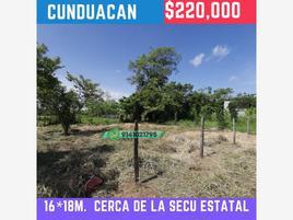 Foto de terreno habitacional en venta en colonia benito juárez 10, cunduacan centro, cunduacán, tabasco, 21432675 No. 01