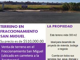Foto de terreno habitacional en venta en de la cruz , zacatecana, guadalupe, zacatecas, 0 No. 01