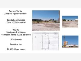Foto de terreno industrial en venta en emiliano zapata 001, el refugio de peñuelas, aguascalientes, aguascalientes, 0 No. 01