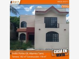 Foto de casa en venta en emilio portes gil 2206, jazmín, altamira, tamaulipas, 0 No. 01