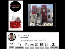 Foto de casa en condominio en venta en Villas del Alcali, García, Nuevo León, 21658786,  no 01