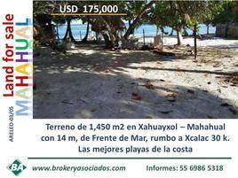 Foto de terreno comercial en venta en frente de playa , mahahual, othón p. blanco, quintana roo, 0 No. 01