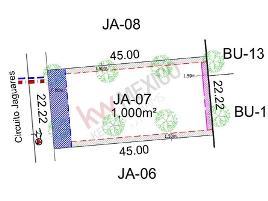 Foto de terreno habitacional en venta en jaguares 07, las villas 7ma etapa, torreón, coahuila de zaragoza, 0 No. 01