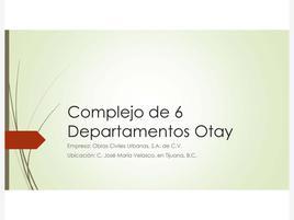Foto de departamento en venta en jose maria velasco 1, nueva tijuana, tijuana, baja california, 0 No. 01
