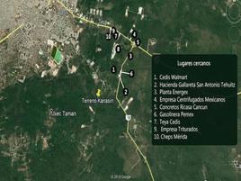 Foto de terreno industrial en venta en kanasin , san antonio tehuitz, kanasín, yucatán, 0 No. 01