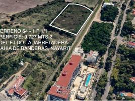 Foto de terreno habitacional en venta en  , las jarretaderas, bahía de banderas, nayarit, 0 No. 01
