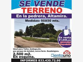 Foto de terreno habitacional en venta en lazaro cardenas 101, la pedrera, altamira, tamaulipas, 0 No. 01