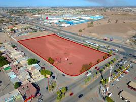Foto de terreno comercial en venta en lazaro cardenas y rosa del desierto , valle del pedregal, mexicali, baja california, 19187279 No. 01