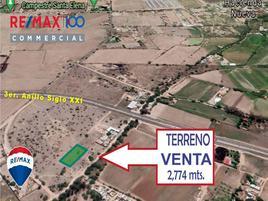 Foto de terreno industrial en venta en manuel delgado contreras , el chacho, jesús maría, aguascalientes, 17046560 No. 01
