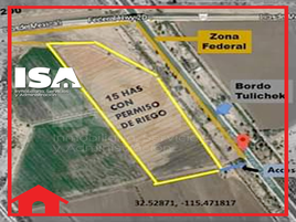 Foto de terreno habitacional en renta en  , mexicali, mexicali, baja california, 17356234 No. 01
