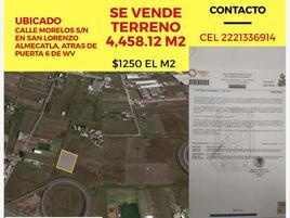 Foto de terreno industrial en venta en morelos 36, 15 de septiembre, puebla, puebla, 14746763 No. 01