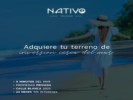 Foto de terreno industrial en venta en nativo 11, telchac puerto, telchac puerto, yucatán, 0 No. 01