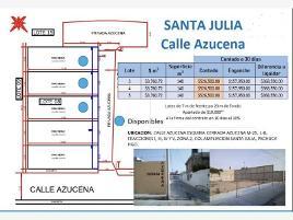 Foto de terreno habitacional en venta en privada azucena 100, ampliación santa julia, pachuca de soto, hidalgo, 0 No. 01