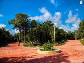 Foto de terreno habitacional en venta en privada kitam che´ , ciudad chemuyil, tulum, quintana roo, 0 No. 01