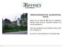 Foto de terreno habitacional en renta en  , san agustin del palmar, carmen, campeche, 8008038 No. 01
