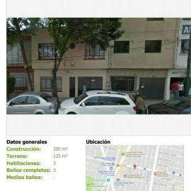 Foto de casa en venta en Vertiz Narvarte, Benito Juárez, Distrito Federal, 6492604,  no 01