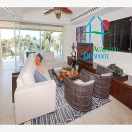 Foto de departamento en venta en avenida costera de las palmas 5 las olas, playa diamante, acapulco de juárez, guerrero, 20170499 No. 01