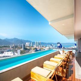 Foto de departamento en venta en avenida politécnico , villas del puerto, puerto vallarta, jalisco, 13787107 No. 01