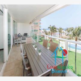 Foto de departamento en venta en costera de las palmas lote h 8-b las olas, playa diamante, acapulco de juárez, guerrero, 0 No. 01
