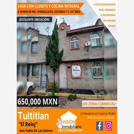 Foto de casa en venta en el reloj 7, ampliación san pablo de las salinas, tultitlán, méxico, 0 No. 01