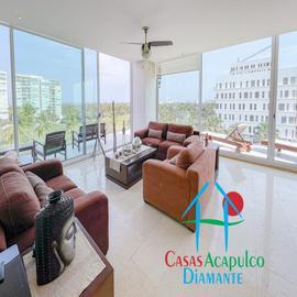 Foto de departamento en venta en h 5, avenida costera de las palmas 5, playa diamante, acapulco de juárez, guerrero, 18577703 No. 01