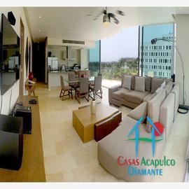 Foto de departamento en venta en h 5, avenida costera de las palmas península loft, playa diamante, acapulco de juárez, guerrero, 0 No. 01