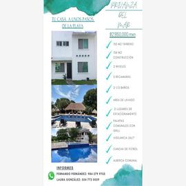 Foto de casa en venta en privanza del mar 1, playa del carmen centro, solidaridad, quintana roo, 0 No. 01