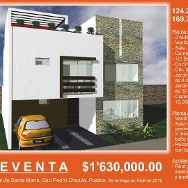 Foto de casa en venta en  , santa maría, san andrés cholula, puebla, 1579844 No. 01