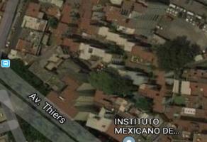 Foto de terreno habitacional en venta en Anzures, Miguel Hidalgo, DF / CDMX, 15411337,  no 01