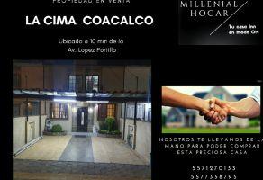 Foto de casa en venta en La Cima, Coacalco de Berriozábal, México, 19587004,  no 01