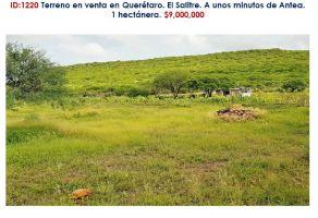 Foto de terreno habitacional en venta en El Salitre, Querétaro, Querétaro, 16822970,  no 01